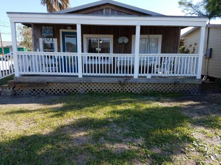 Click to enlarge image Welcome to Light House Cottage - The Light House, Charming 2BR, Dog Friendly, Screened Porch - Private Home, Sleeps 6, Fenced Yard, Walk to shopping.