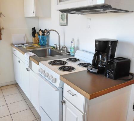 Click to enlarge image Fully equipped kitchen - Barefoot Dayz - Wonderful Studio Condo at Island Retreat